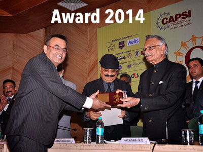 Award 2014 Private Investigators in Delhi